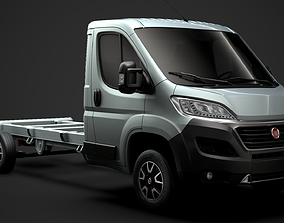 3D model Fiat Ducato Chassis Truck Single Cab 4035WB 2020