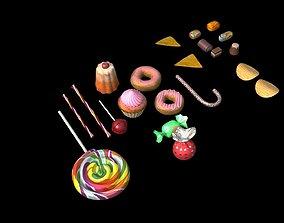 candy bar 3D model