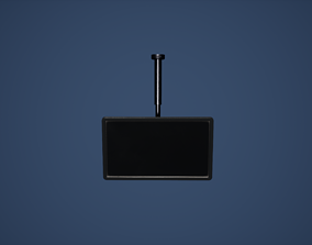 Television TV Game Ready 3D model