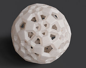 3D print model Dual Checkerboard Dodecahedron