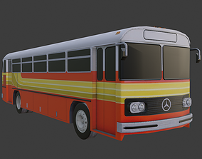 3D asset rigged Mercedes Benz Monobloco O-362