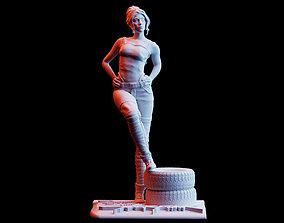 Cyberpunk 2077 Panam Palmer Diorama 3D print model