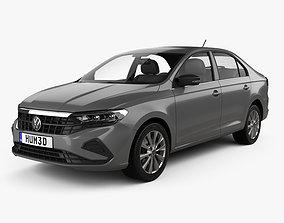 Volkswagen Polo CIS-spec sedan 2020 3D model