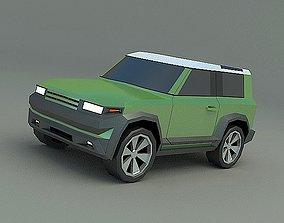 3D model Generic Landrover SUV