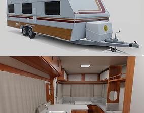 3D asset Karmann Guia Kc - Interior