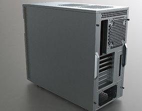 3D model low-poly PC Case