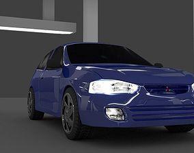 Mitsubishi colt 5 3D model