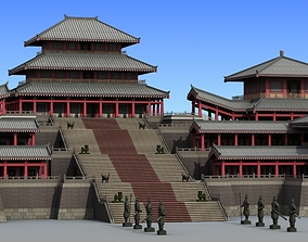 Chinese Architecture 09 3D