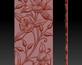 3D print model flower panels