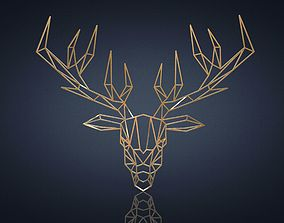 3D model Deer wall decor