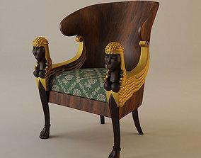 3D Babylon Armchair