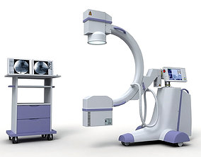 C-Arm X-Ray Machine 3D