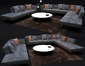 Sofa FLEXFORM ADDA 3D model