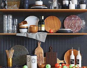 3D Kitchen set 2 cup