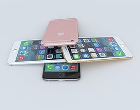 Iphone 6s all colors 3D