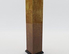 3D Column - Art Deco 1940