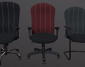 3D Ergonomic Office Chairs