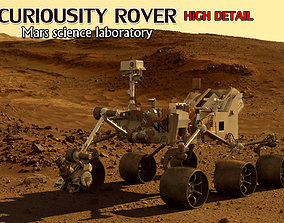 CURIOUSITY ROVER MARS SCIENCE LABORATORY 3D