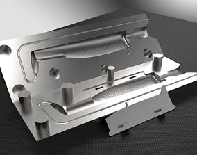 Split Belly Soft Bait Mold 3D Printable