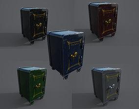 old 3D model Old safe