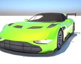 Aston Martin Vulcan - Custom 3D model