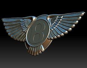 Bentley logo 3D print model