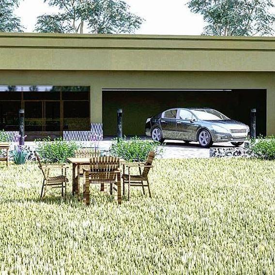 Home Garden 3d design