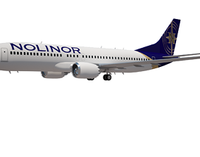 3D Nolinor Aviation 737 Aircraft