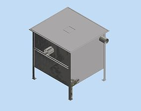 3D Small grease trap