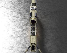 Concept Sci-fi laser rifle 3D