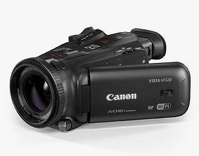 Canon VIXIA HF G30 HD 3D asset