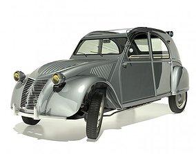 3D model 1958 Citroen 2CV