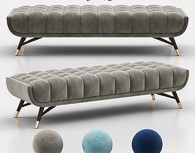 Newenton Upholstered Bench furniture 3D
