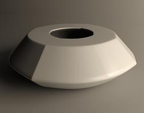 Flowerpot for small vegetation 2 3D print model