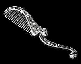 Silver or Golden Comb 3D print model