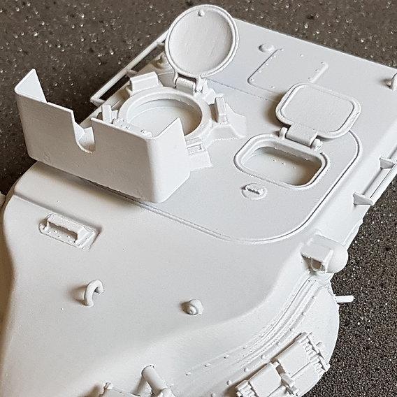 1/35 scale T57 tank turret