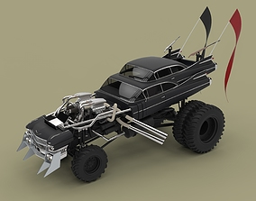 Gigahorse from the movie Mad Max Fury road 2015 3D model