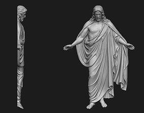 3D print model Resurrected Jesus Bas-Relief