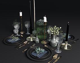 3D model Table setting 001