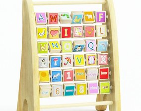 Baby Alphabet Toy 3D model