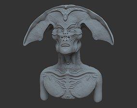 NLO bust 3D model