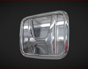 3D model Honda Car Badge