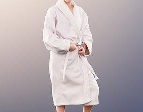 11649 Bella - Pretty Girl bathing robe spa swimming 3D 1