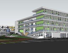 3D model Region-City-School 73