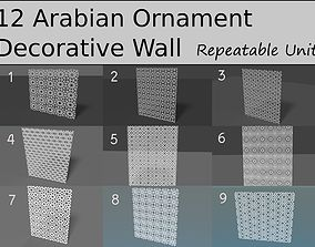house Arabian Ornament Pattern Collection 3D