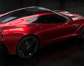 master 3D model Chevrolet Corvette C7