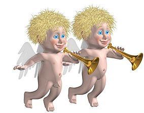 angels 3D model
