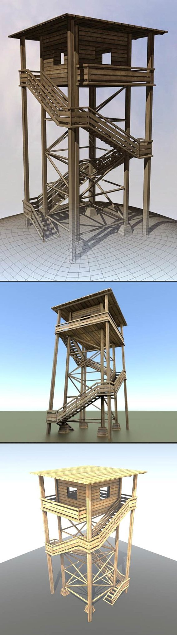 My old wooden watch tower (08.12.2010)