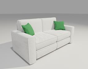 3D model Harmony Sofa 2 seater