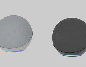 Echo dot 4th generation smart speaker with Alexa 3D model